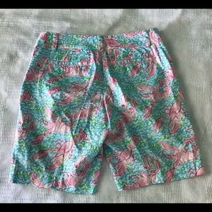 Lilly Pulitzer Shorts - Lilly Pulitzer Chipper Shorts in Lobster Roll